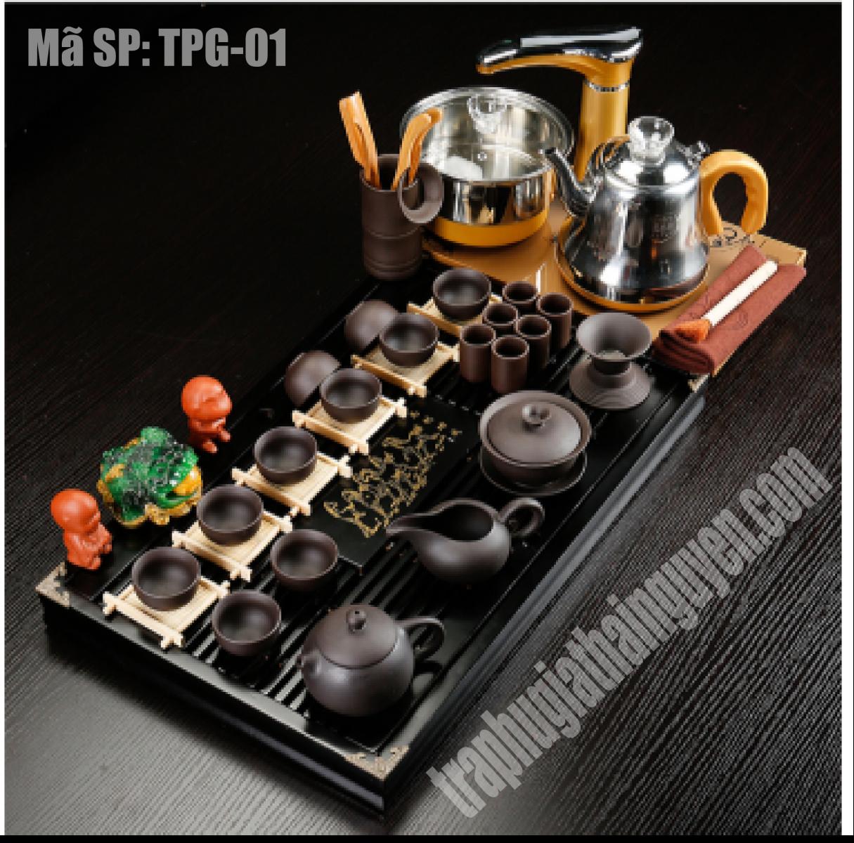 bộ trà điện TPG 01